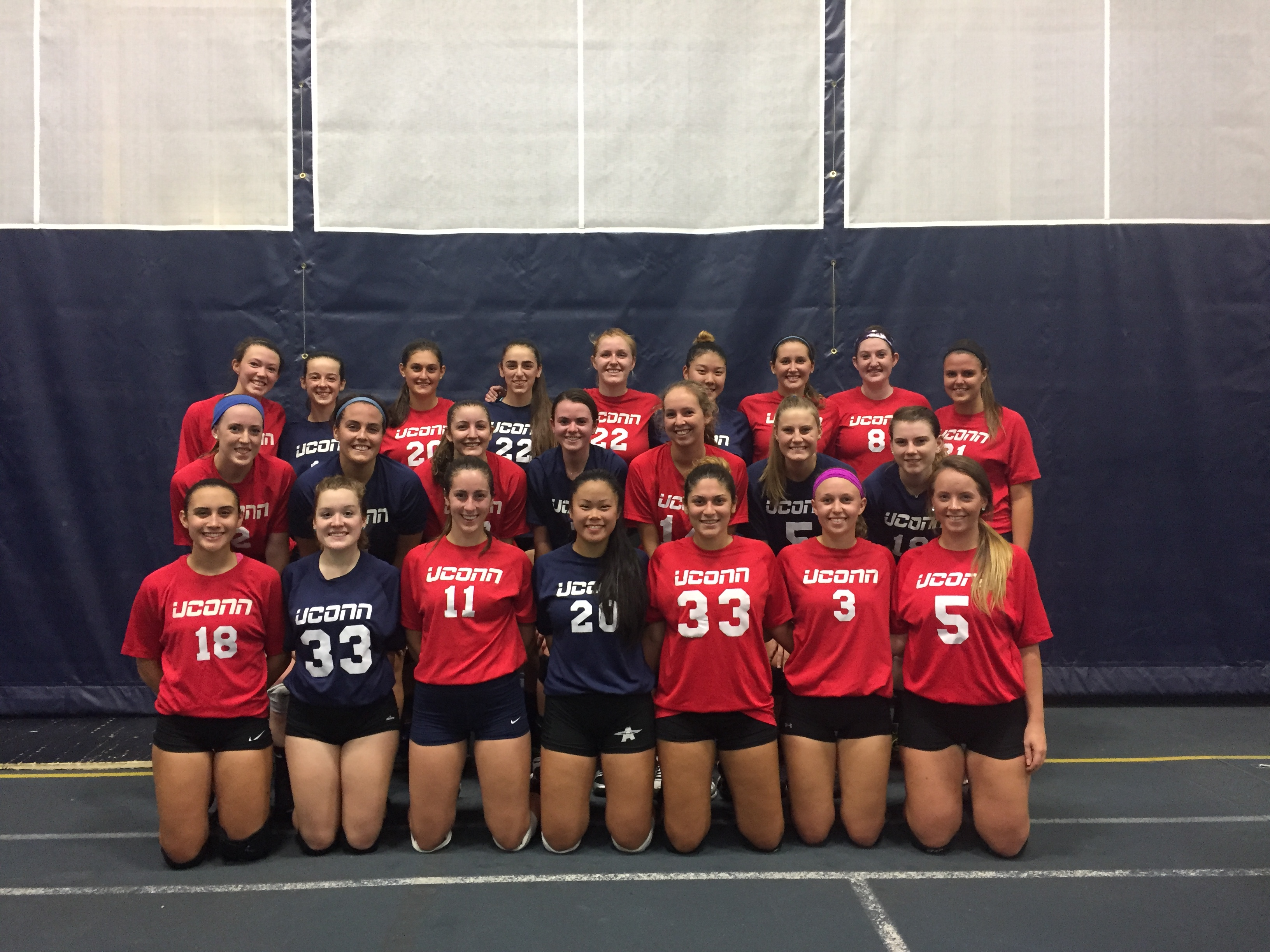 Women's Club Volleyball Team 2016-2017.